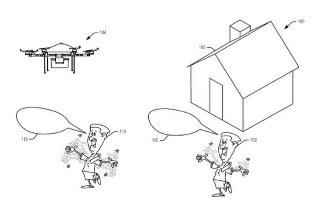 Amazon мечтает о дроне, который поймет ваши сигналы, сделанные руками
