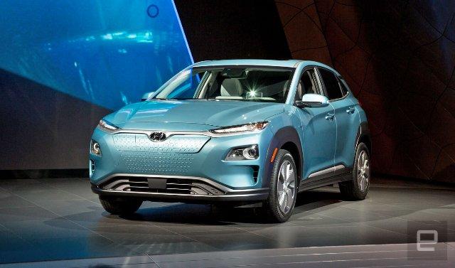 Hyundai Kona Electric будет пробегать 402 км за один заряд