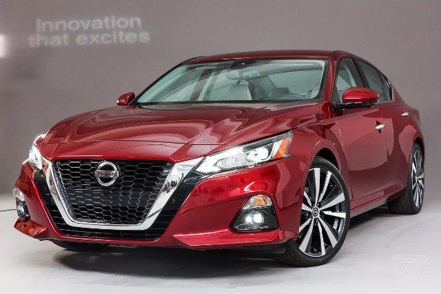Новая Altima от Nissan предлагает высокоавтоматизированное вождение