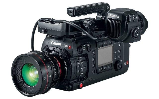 Canon представляет свою первую полнокадровую кинокамеру