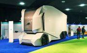 Einride представила свои автономные грузовики T-Pod