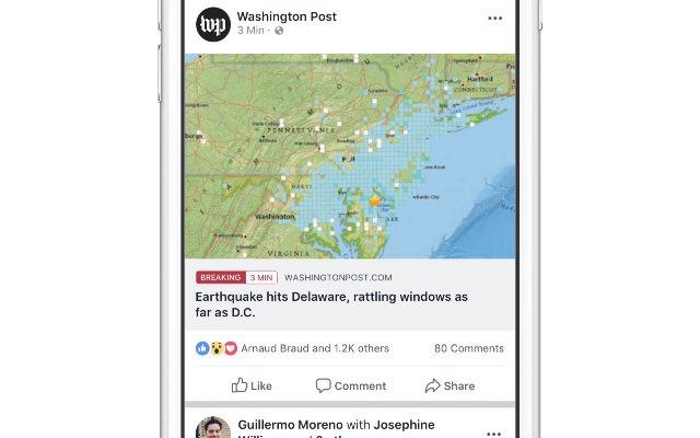 Facebook расширяет доступ к новостным ярлыкам другим издателям