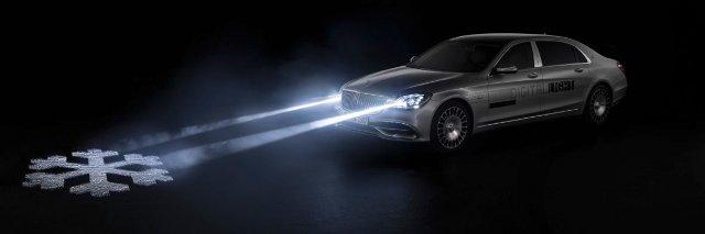 Футуристические фары Mercedes уже не просто концепция