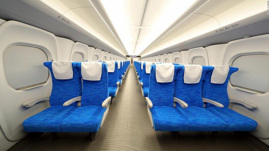 В Японии показали новое поколоение «поезда-пули»