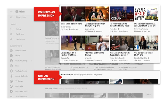 Подъехали свежие бетки Youtube: фоновый просмотр видео и обновленная творческая студия