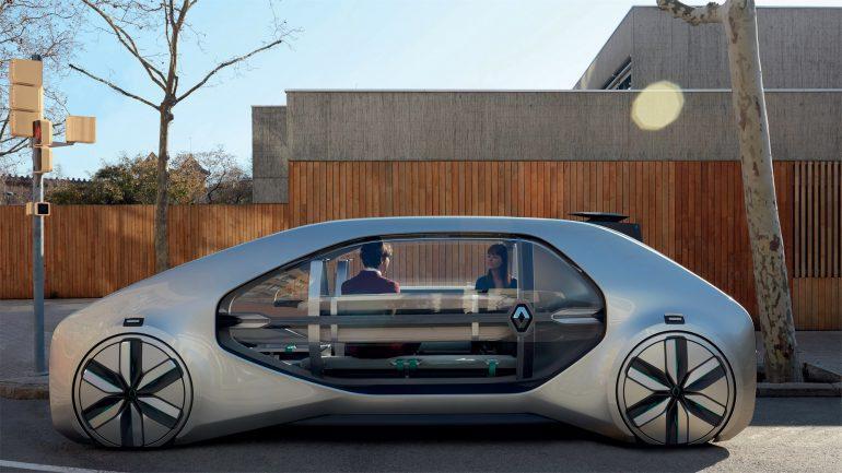 Renault EZ-GO — автономобиль для эффективного будущего
