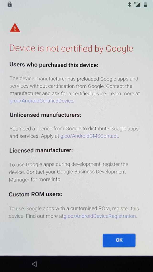 Google отключает свои приложения для несертифицированных пользователей Android