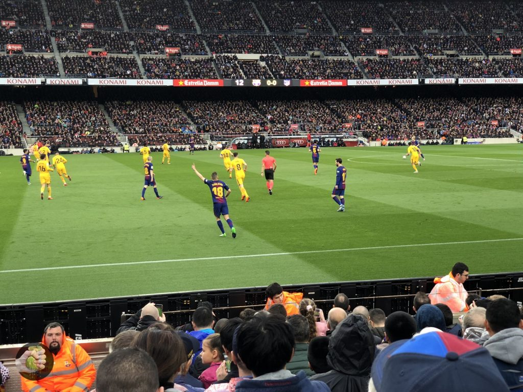 MWC2018: Еще один день, про Samsung Galaxy S9 и футбол в Барселоне