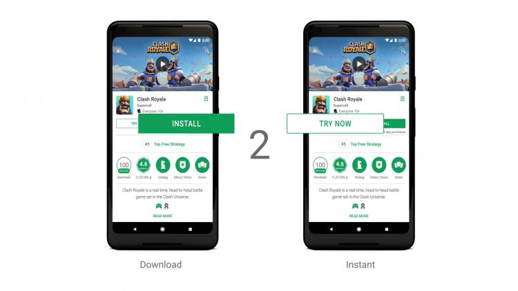 Новый сервис от Google позволит играть без скачивания приложений