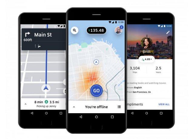 Uber собрала отзывы водителей, чтобы пересмотреть приложение, которое они используют