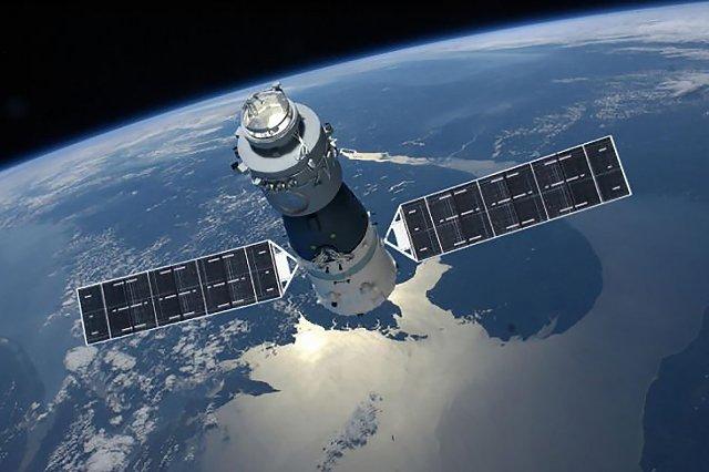 Первая космическая станция Китая сгорела над южной частью Тихого океана