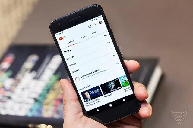 YouTube TV теперь работает в Firefox