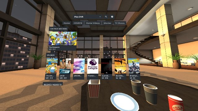 Plex приносит свое приложение для виртуальной реальности в Gear VR и Oculus