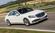 Mercedes готовит электрический эквивалент своему роскошному седану S-класса