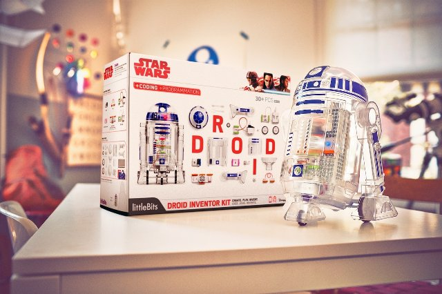 littleBits добавляет кодировку и настройку к своему набору Droid Star Wars