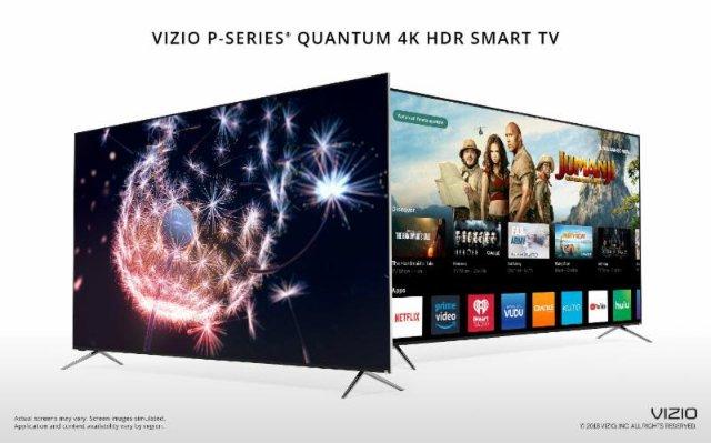 Новый телевизор P-серии от Vizio - самый яркий