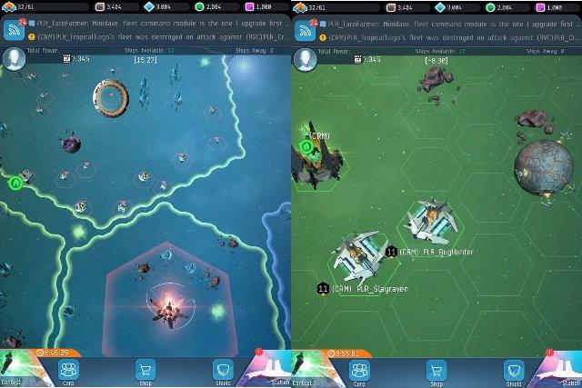 EVE: War of Ascension воссоздает почтенную космическую ММО для мобильных телефонов