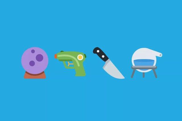 Новое обновление emoji от Twitter меняет пистолет в пользу водяного пистолета