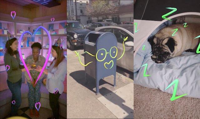 Facebook Stories добавят AR рисунки и Boomerang GIF