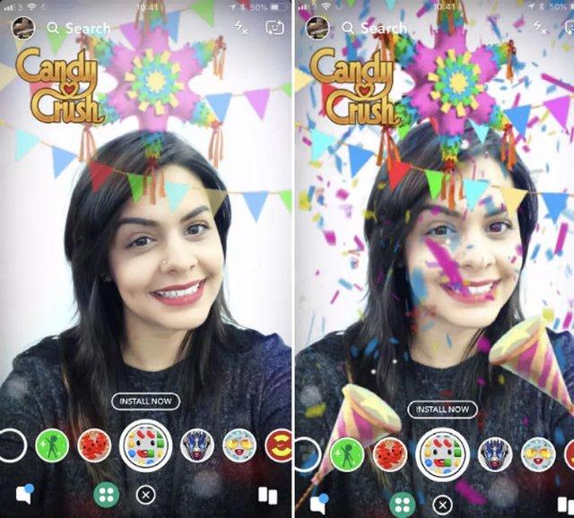 Snapchat превращает свою платформу Lenses в торговый центр для брендов