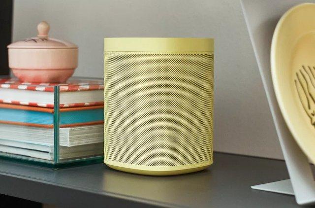 Sonos One получает новые, более дорогие цвета