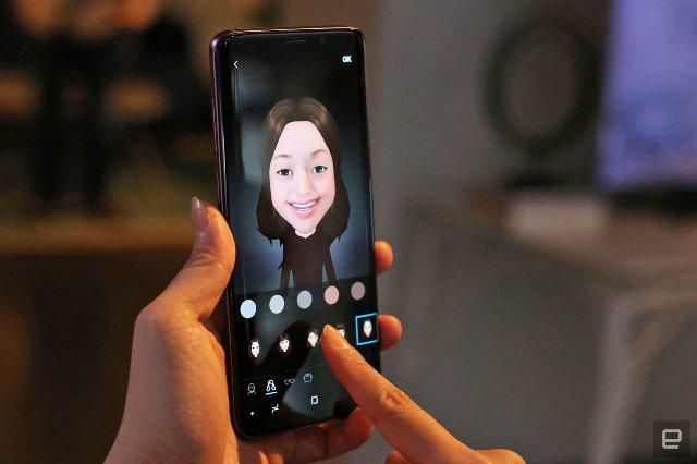 Samsung может использовать AR Emoji в качестве видео во время видеочатов