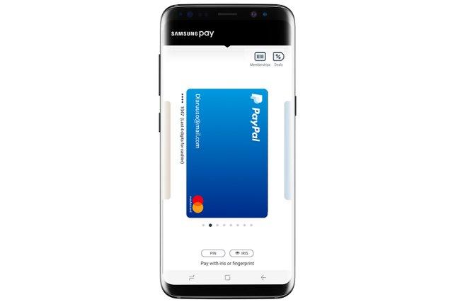 Samsung Pay наконец работает с PayPal Wallet