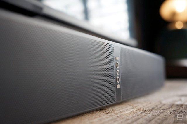 Sonos подает намеки на предстоящий умный динамик для домашнего кинотеатра