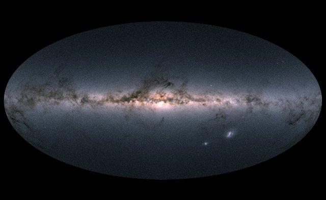 ESA выпускает самую подробную звездную карту