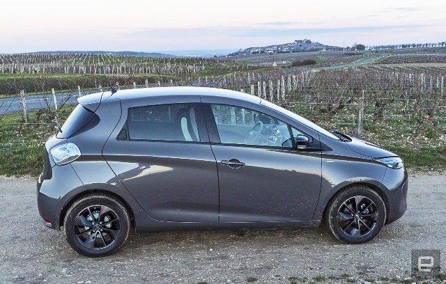 Французские владельцы Renault Zoe могут наконец выкупить свои батареи