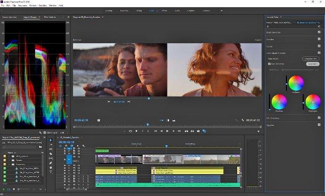 ИИ Adobe автоматически будет подгонять совпадение цветов на снимках в Premiere