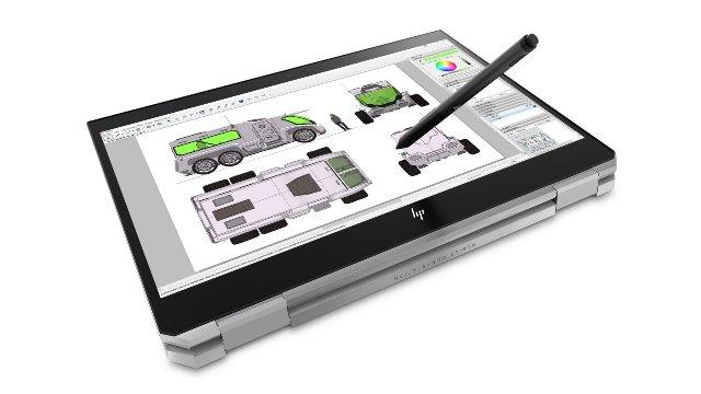 HP ZBook x360 оснащен шестиядерным процессором Xeon
