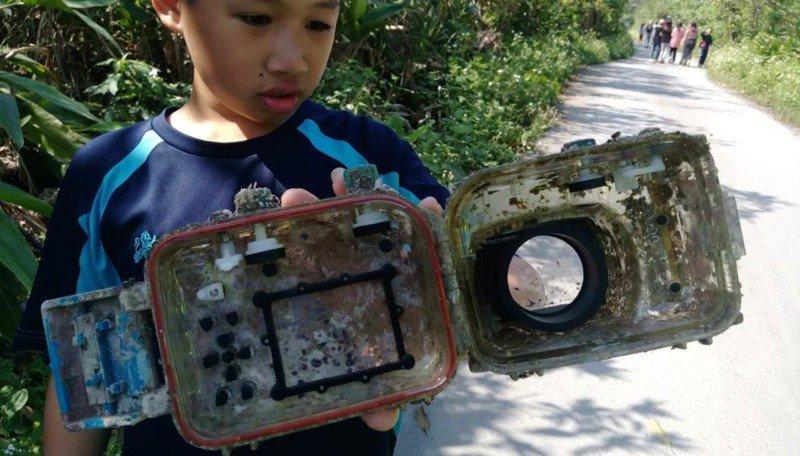 Утопленная камера вернулась к владельцу спустя 2 года