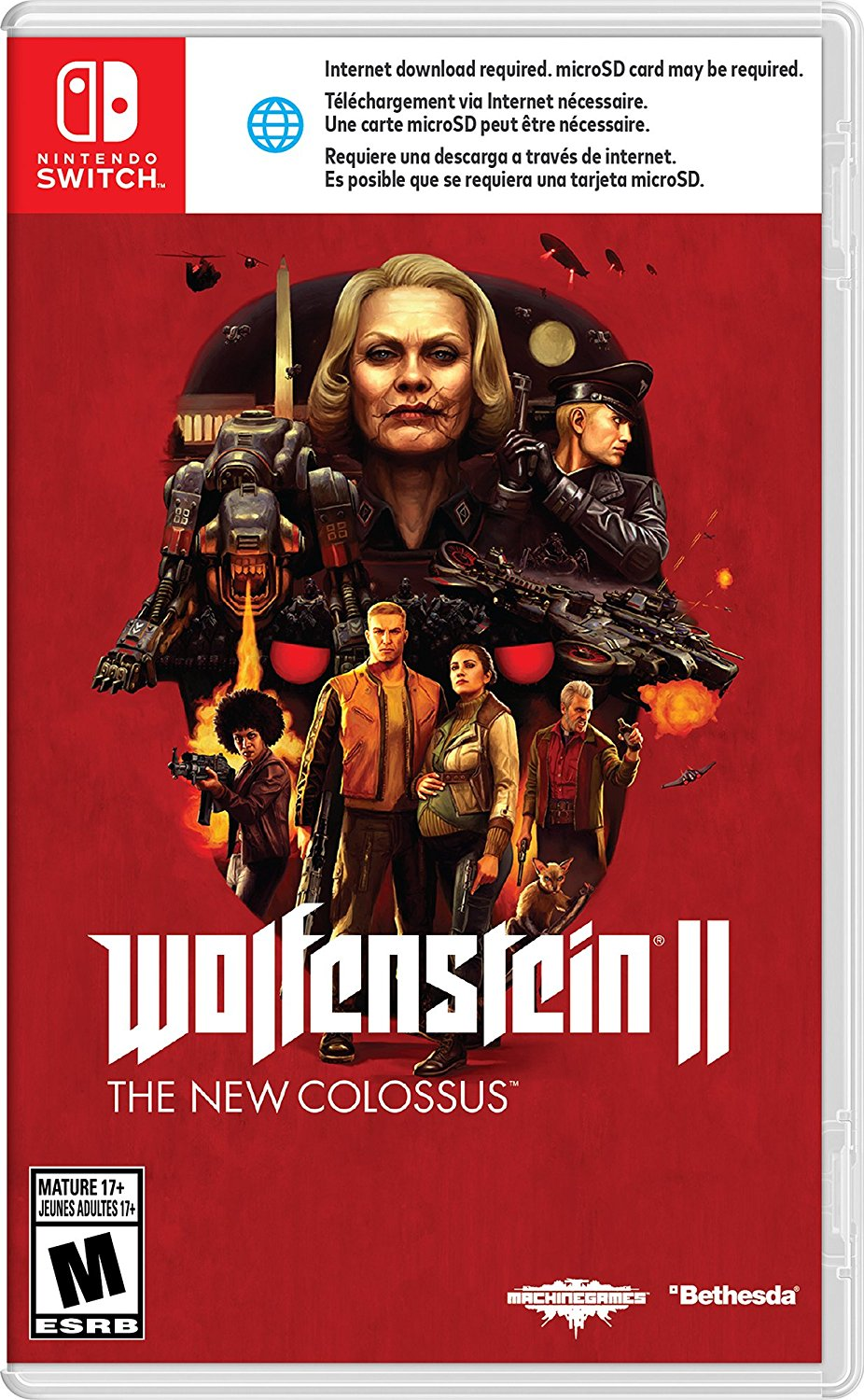 Wolfenstein II: The New Colossus выйдет на Nintendo Switch
