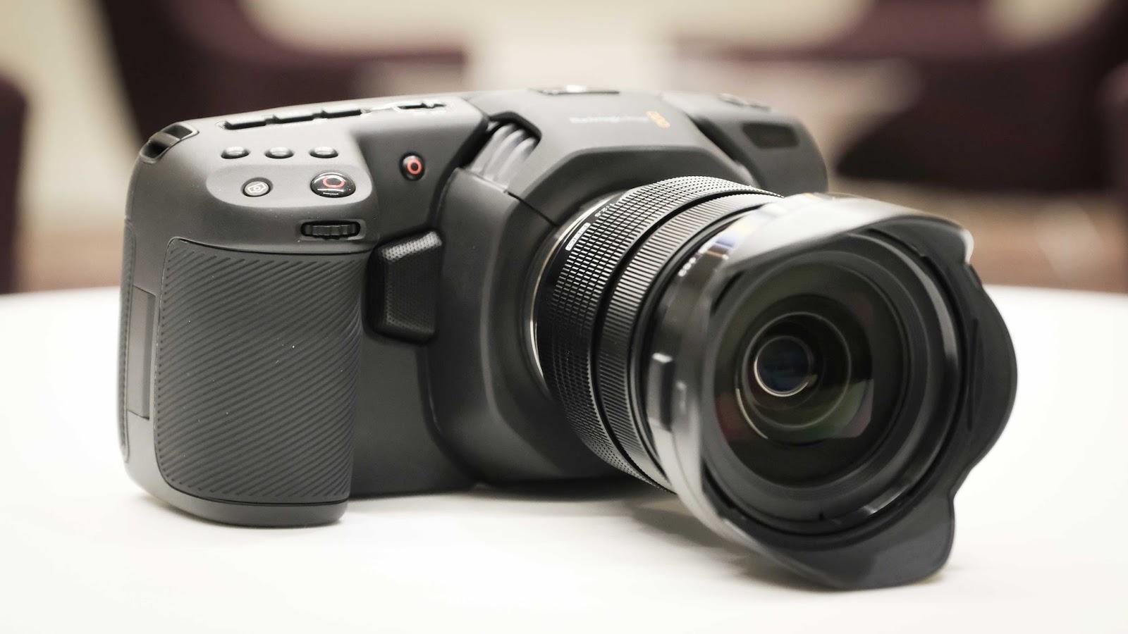 Новая компактная 4K-камера Blackmagic: снимай как профи