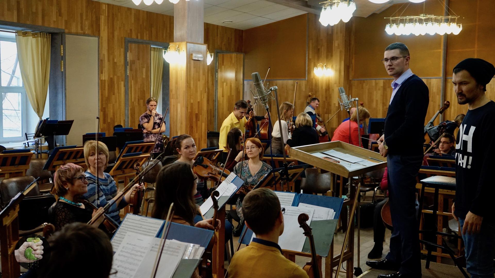 Ваня Чебанов, iMac Pro, оркестр, музыка