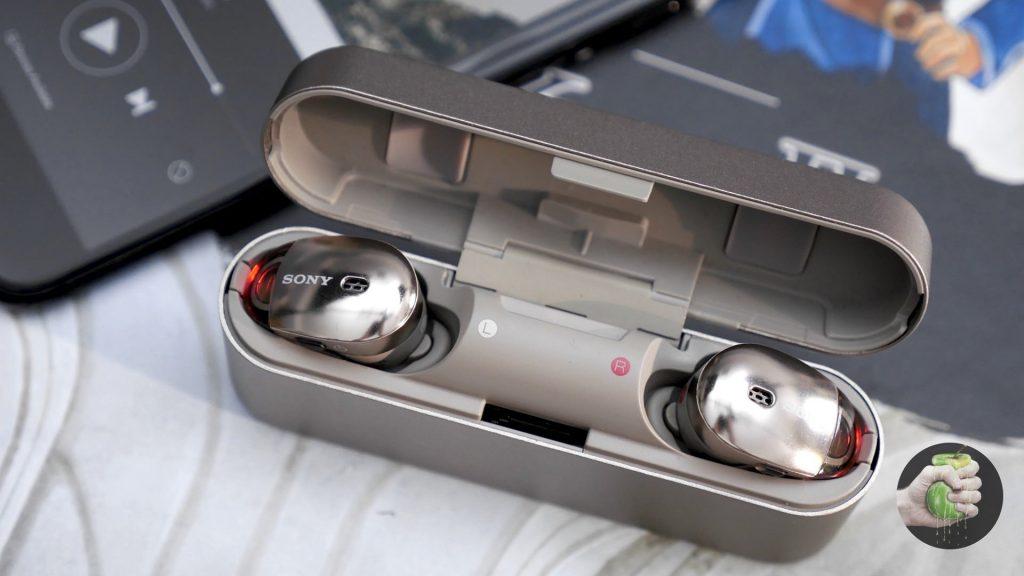 Обзор Sony WF-1000X: беспроводные, удобные, классные