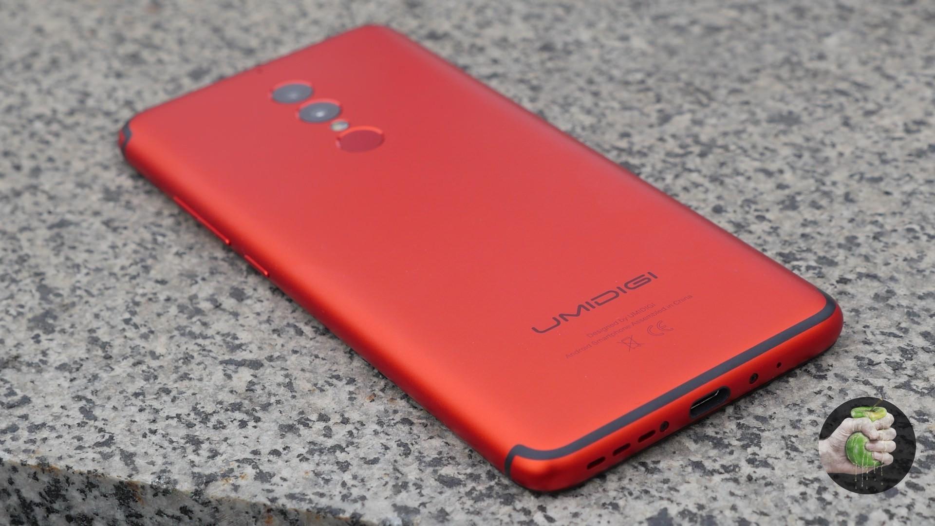 Umidigi S2 Lite: красный китайский фонарик