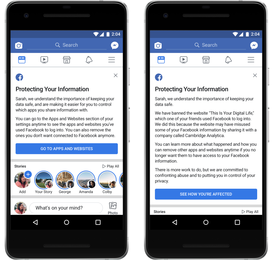 Facebook: пострадали 87 млн пользователей, но Цукерберг всё равно ван лав