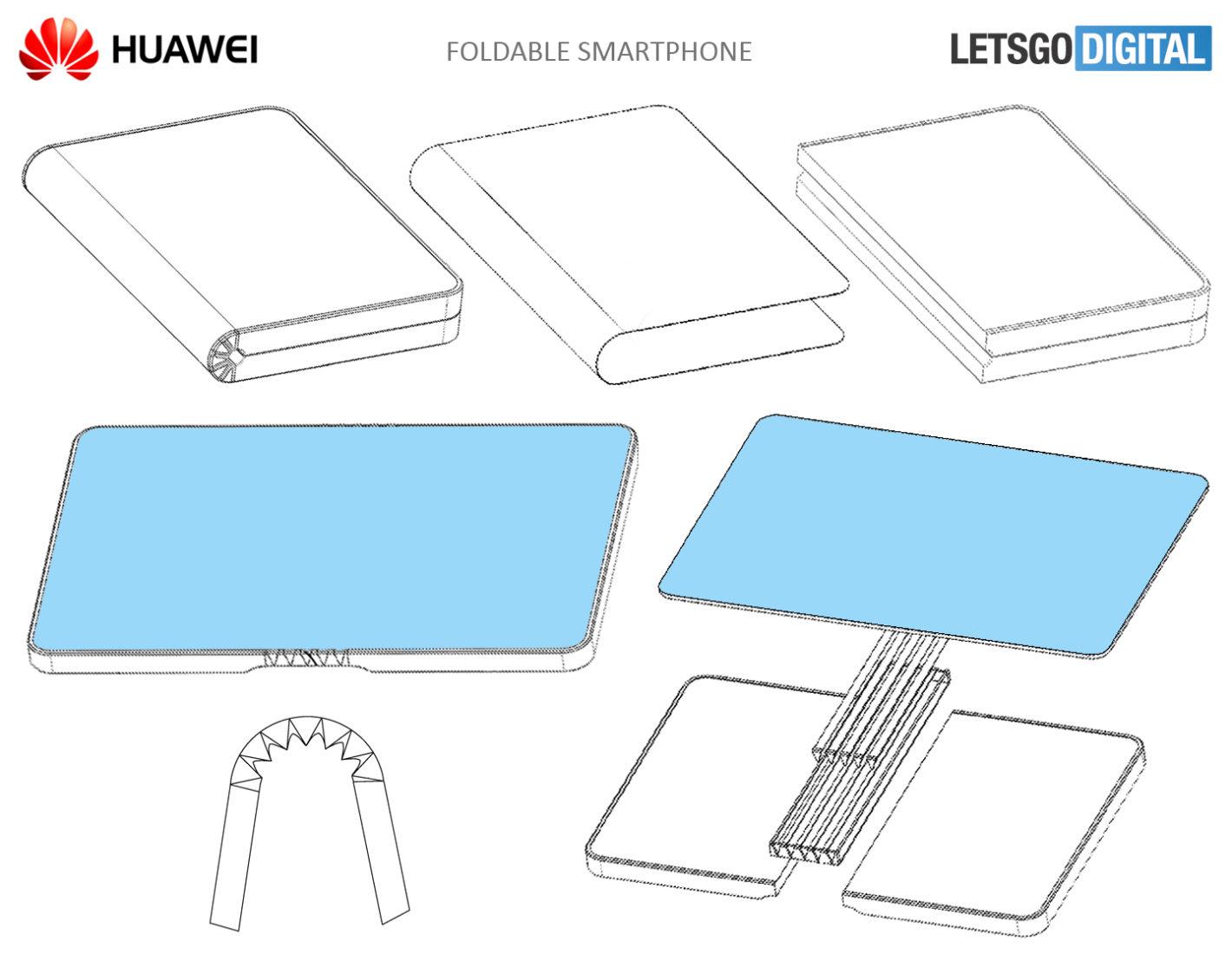 Huawei хочет первой показать гибкий смартфон