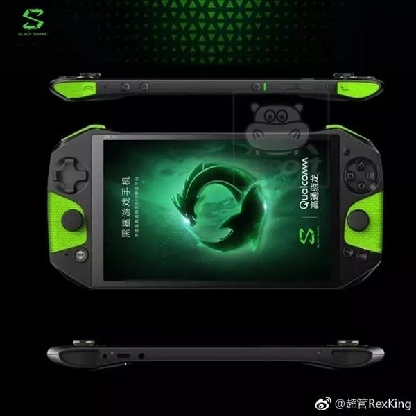 Xiaomi представит очень странный игровой смартфон Blackshark