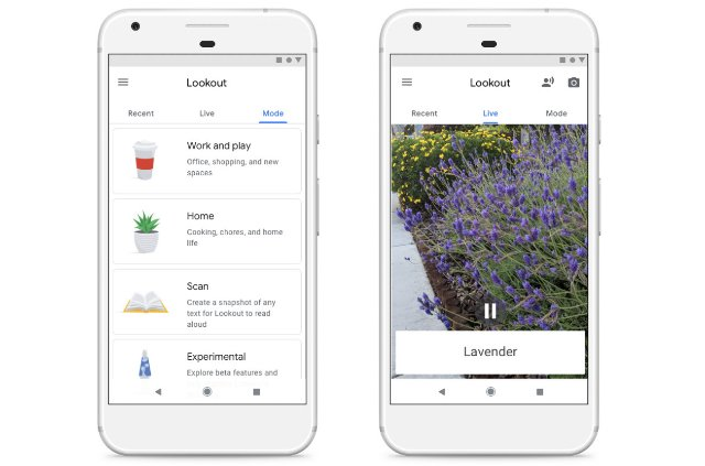 Поисковая система Google поможет слепым ориентироваться в своей среде