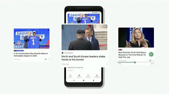 Приложение Google, ориентированное на ИИ, будет показывать новости дня