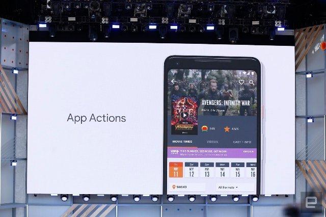Android P функции Actions и Slices предсказывают, что вы хотите сделать дальше