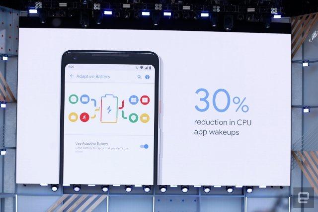 Android P позволяет ИИ увеличить время автономной работы