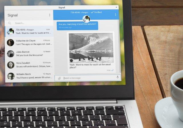 Ваш Mac может хранить ваши «удаленные» Signal сообщения