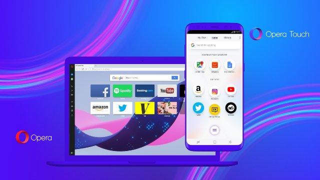 Opera «Flow» поддерживает синхронизацию новых мобильных и настольных браузеров