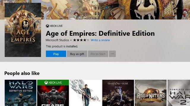 Microsoft теперь позволяет вам дарить компьютерные игры из цифрового магазина