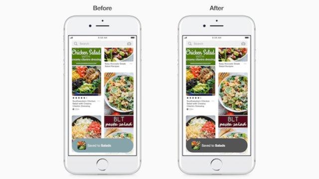 Pinterest сделала приложение более доступным для слабовидящих