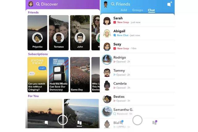 Перепроектированный редизайн Snapchat начинает развертываться